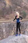 Honeyhair with SimonO corset in quarry