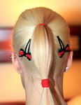 Honeyhair at Fetish Evotuion Essen - latex hair-slide
