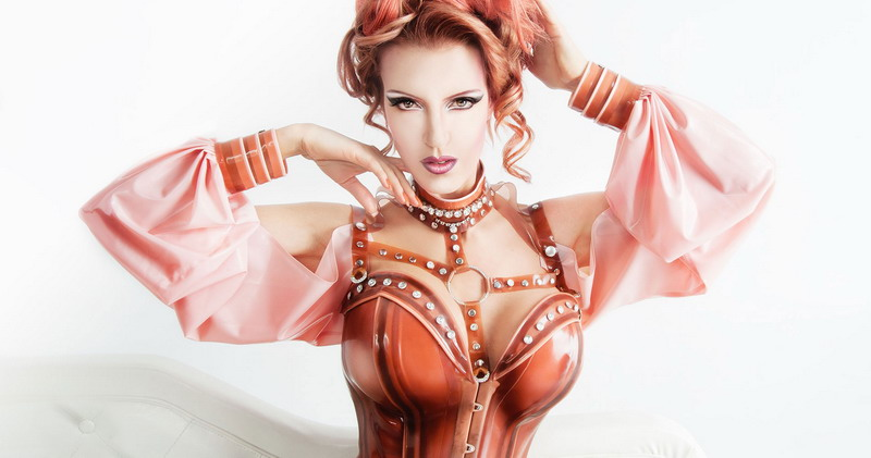 Photo by Miguel Infante, latex Brigitte  More  Lovely Latex, for Fetish  Evolution 2017