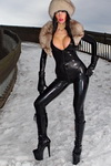 Catsuit and Fur